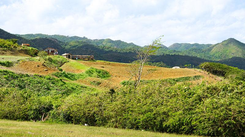 Landschaft in der Escambray