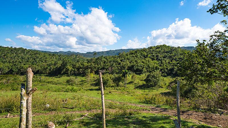 Ausblick in das Escambray Gebirge