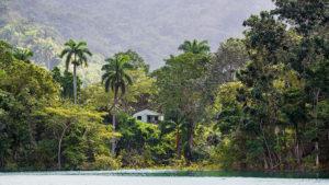 einsames Bauernhaus am Hanabanilla See