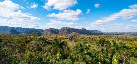 Valle de Viñales in Pinar del Río in Kuba