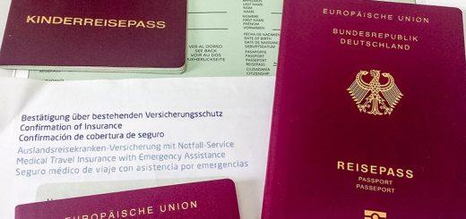 Reisedokumente für Kuba