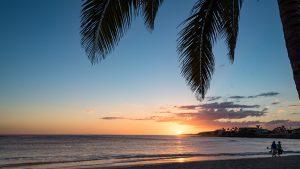 Sonnenuntergang in Rancho Luna