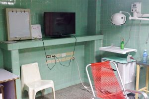 Krankenzimmer auf der Intensivstation in Cienfuegos, Kuba