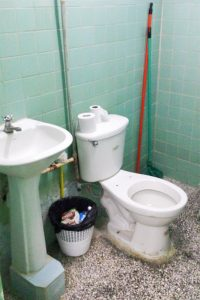 WC auf der Intensivstation in Cienfuegos, Kuba