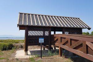 Beobachtungsturm im Ebrodelta